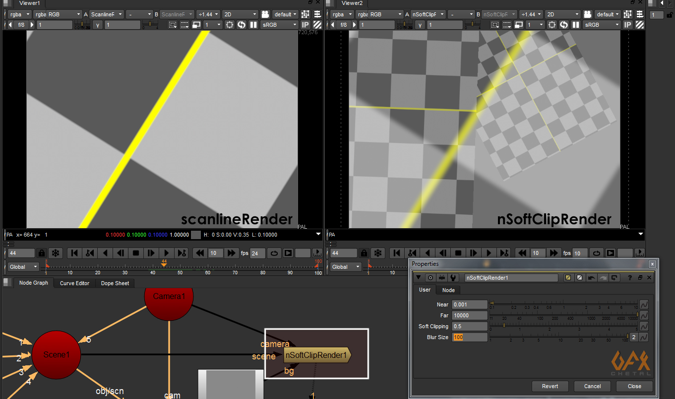 nSoftClipRender snap