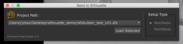 sfx proj build load