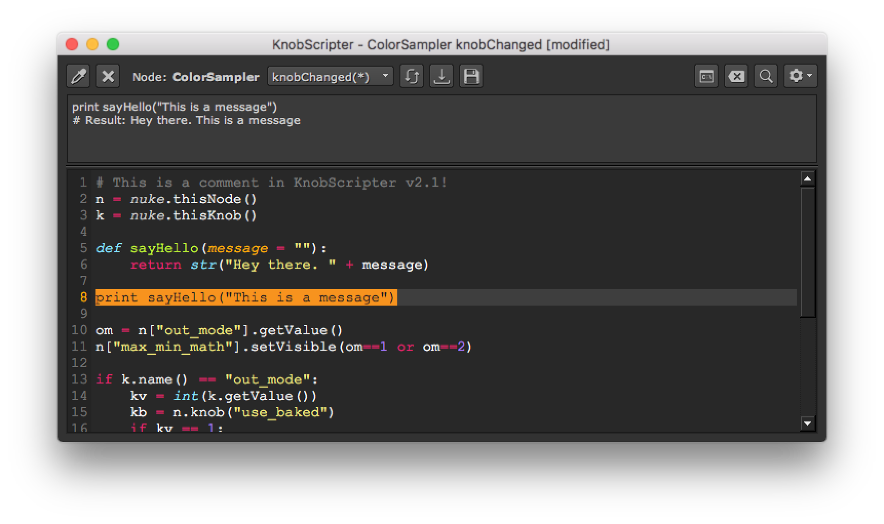 KnobScripter v2.1